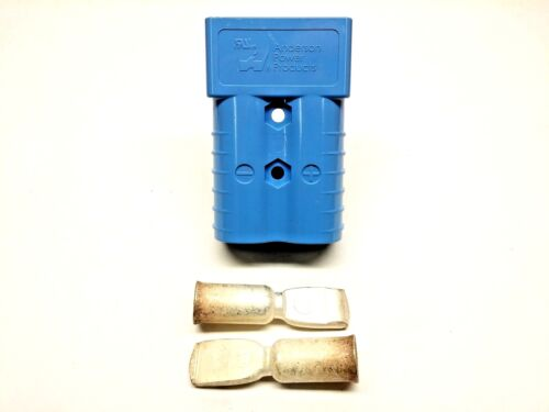 6321G2 Anderson Original SB 350 Battery Connector Blue 4/0 AWG