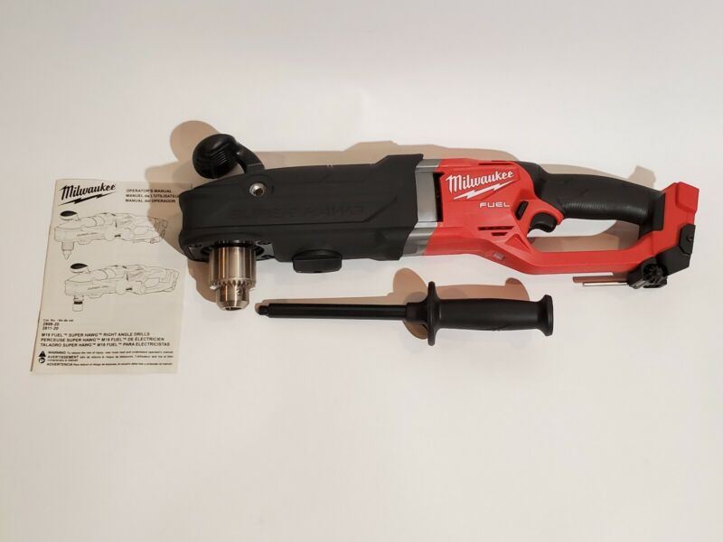 New Milwaukee M18 FUEL Super Hawg Right Angle Drill (Tool-Only) 2809-20