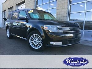 2017 Ford Flex SEL 3.5L V6, NAVIGATION, SUN ROOF, LEATHER HEA...