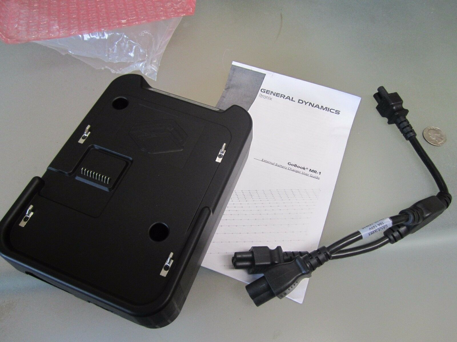 """AC Power Adapter Charger For Itronix Go-Book XR-1 IX270 12.1/"""" Laptop PC GoBook"""