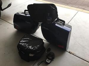 Triumph Sprint GT Panniers and Top Box Tapping Wanneroo Area Preview
