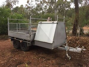 8x6 flat top tradesman trailer Mundaring Mundaring Area Preview