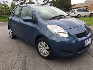 2008 Toyota Yaris RWC and registration Roxburgh Park Hume Area Preview