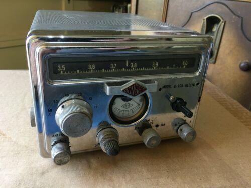 Vintage  GONSET ham G-66 B , receiver , used