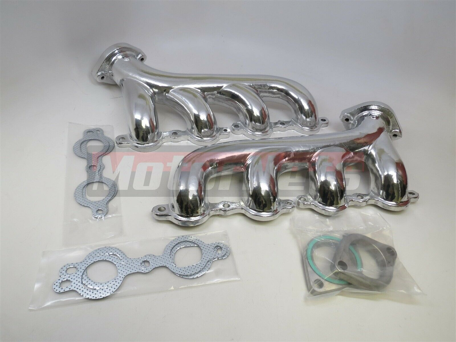 LS Cast Iron Exhaust Manifold Headers Chevrolet Corvette Camaro LS1 LS2 LS3 8501