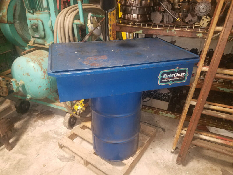 Everclear Self Contained Parts Washing System 36