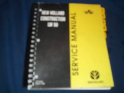 New Holland Lw50 Wheel Loader Service Shop Repair Catalog Book Manual