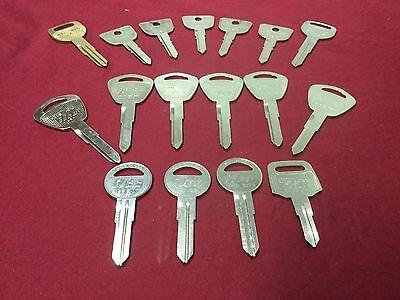 Honda By Curtis Ilco Automotive Hd82 Hd101 Key Blanks Set Of 17 - Locksmith