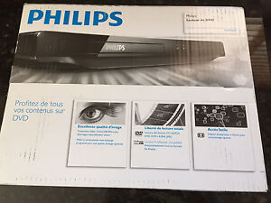 Philips DVD Player - NEW in Box!