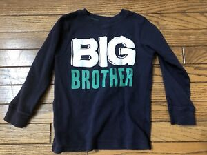 Big brother shirts size 3 and 4