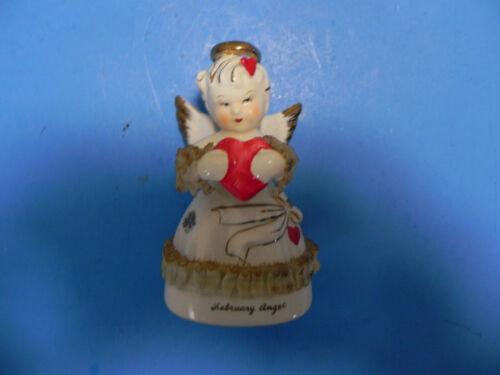 """Vintage Art Valentine Angel Figurine 4"""""""