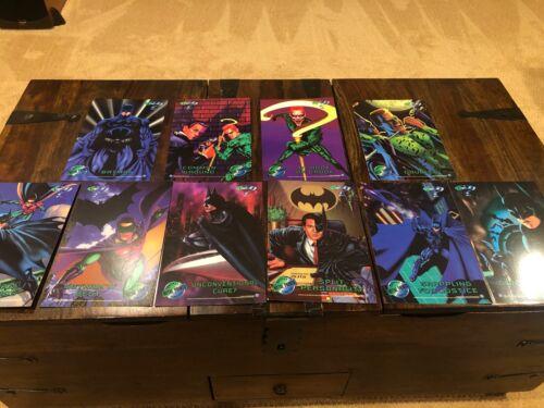 Metal Batman Forever Metal Print Lot 10 Near Mint Quality FRAME Man Cave these!