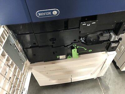Xerox C70 Color Copierprinterscannerr7b Fierymultifunction Booklet Finisher