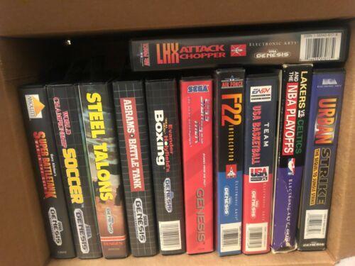 11 Game Lot for Sega Genesis