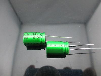 10pcs Japan Nichicon Muse Es Bp 220uf 10v 220mfd Audio Capacitor Caps