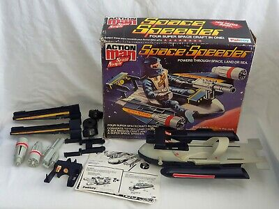 VINTAGE ACTION MAN PALITOY SPACE SPEEDER SPACE RANGER VEHICLE BOXED