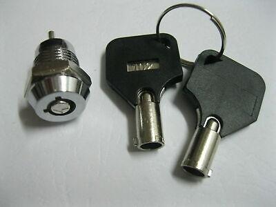 1 X Key Switch Onoff Lock Switch Ks3 W Plastic Handle 10.5x19mm