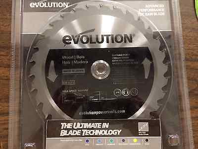 Evolution Saw Blade For Wood Cutting 730t 20mm 180bladewd New