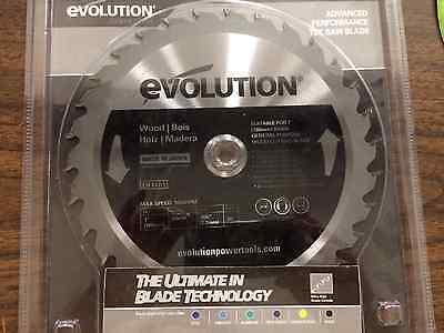 Evolution Saw Blade For Wood Cutting 730t 20mm 180bladewd New