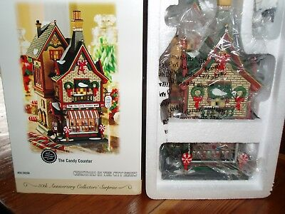 DEPT 56 Christmas In The City THE CANDY COUNTER NIB