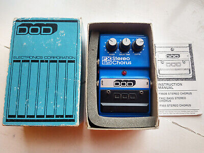 DOD FX65 Stereo Chorus Guitar Effects Pedal Vintage 1980's USA John Frusciante