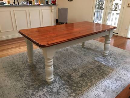 French country style oregon table