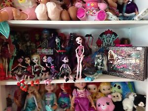 Plusieurs monster high 12.50$ chacune