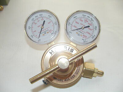 Harris Gas Regulator 425-125-580 Argon Helium Nitrogen Cga-580 3000767