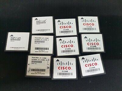 [USED] CISCO MEM-CF-512MB : 512MB Compact Flash for CISCO