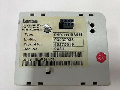 Lenze Emf2111ib-v531 Profibus Module Tested