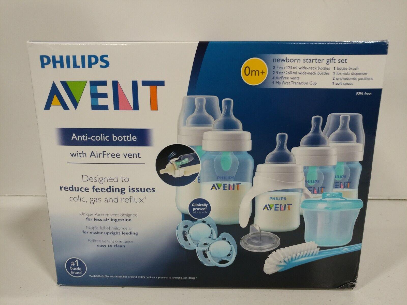 Philips Avent Baby Bottle Anti-Colic AirFree Vent Newborn Gi