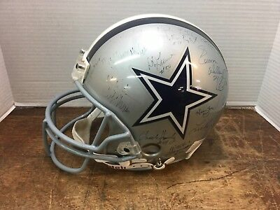 DALLAS COWBOYS NFL AUTOGRAPHED FOOTBALL HELMENT FULL SIZE!](Cowboys Helment)
