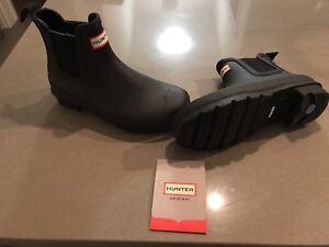 Hunter Chelsea Boots NEW