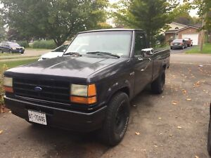 1989 Ford Ranger Custom V6 5 Speed Manual