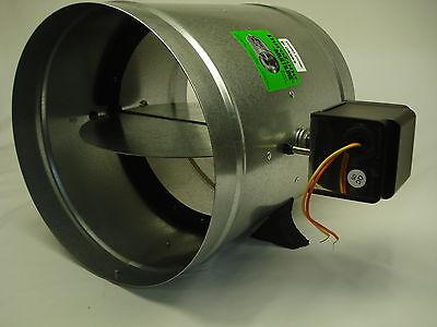 Motorized Zone Dampers - Durozone HVAC Motorized  Electric zone control 24 AC  damper dampner 10 inch
