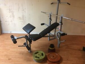 Weight Bench with 300 lbs