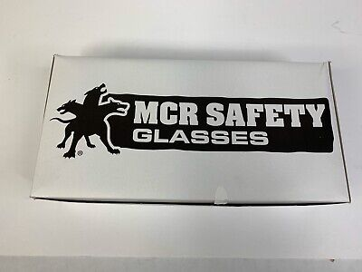 MCR Safety CL010 Checklite Safety Glasses, Clear Lens, Uncoated, Lot of 10