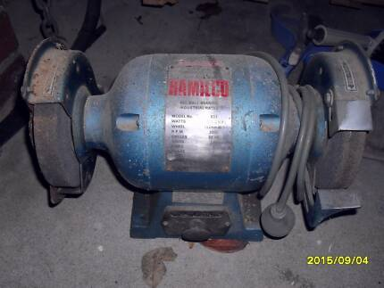"HAMILCO Industrial Rated Bench Grinder 6"" Templestowe Manningham Area Preview"