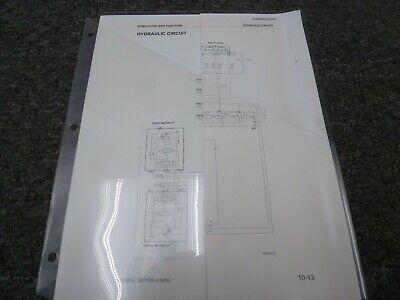 Komatsu Sk1020-5 Skid Steer Loader Hydraulic Electrical Wiring Diagrams Manual