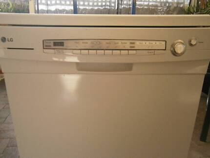 dishwasher lg works well door needs attention50 ono