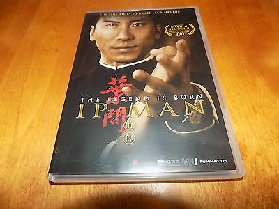 IP MAN THE LEGEND IS BORN True Story of Bruce Lee's Mentor Martial Arts DVD