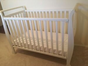 Baby cot with mattress Barden Ridge Sutherland Area Preview