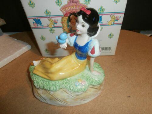 Schmid Walt Disney Snow White Music Box Someday My Prince Will Come w/ Box