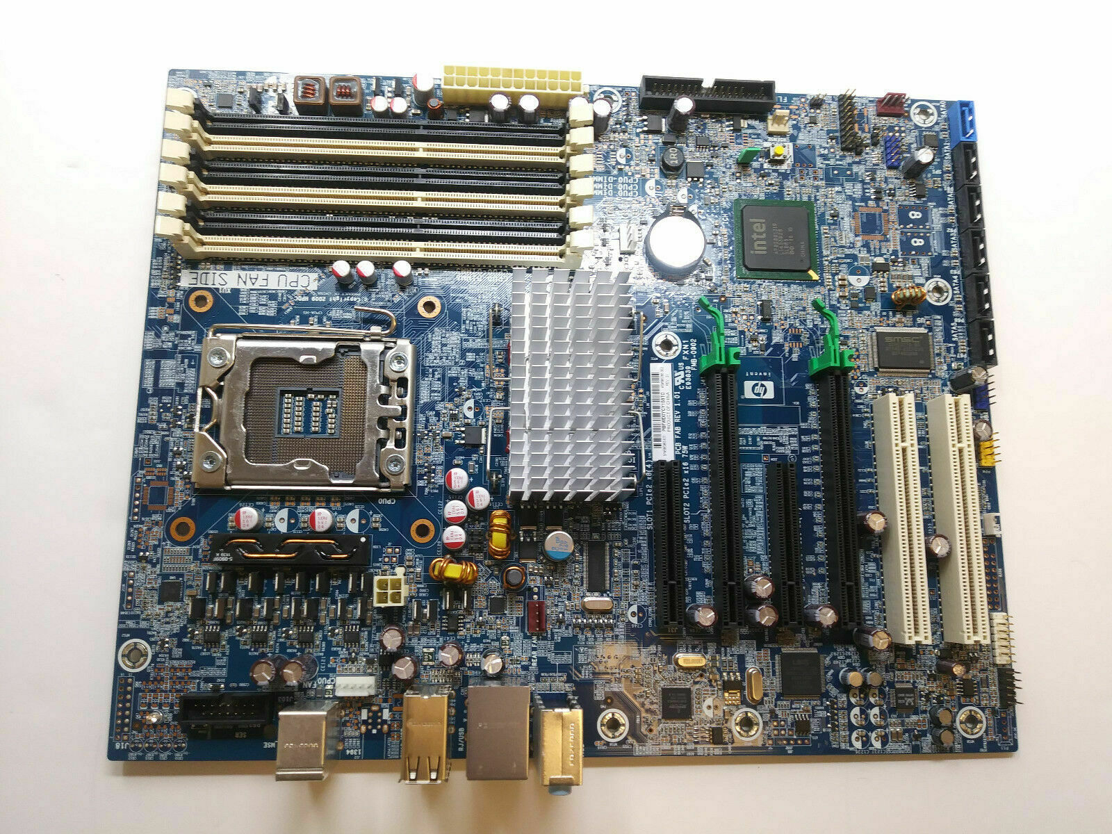 HP Z400 Workstation Motherboard Socket Lga1366 586968-001 No CPU