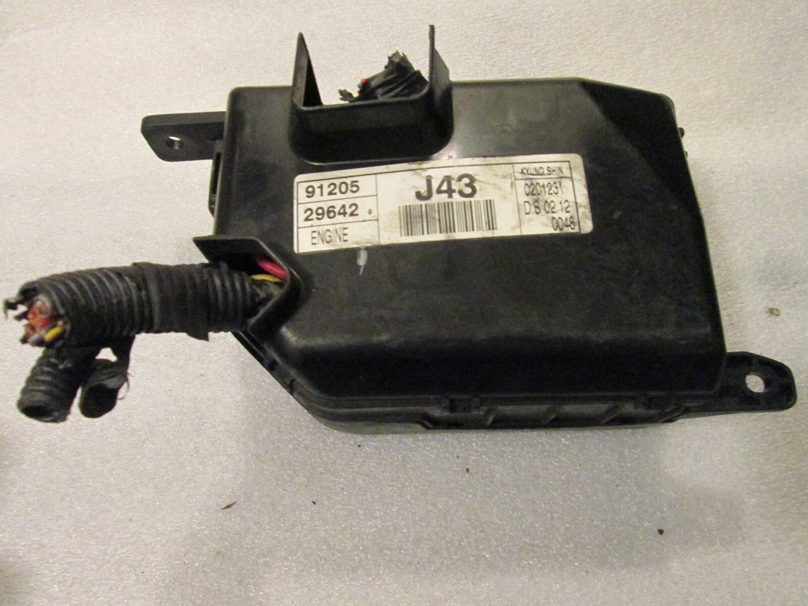 2000 Elantra Fuse Box Electronicswiring Diagram Hyundai Engine 91213 29530