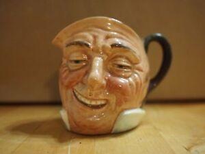 ROYAL DOULTON Medium Toby Face Mug Jug FARMER JOHN England Vintage Collectible