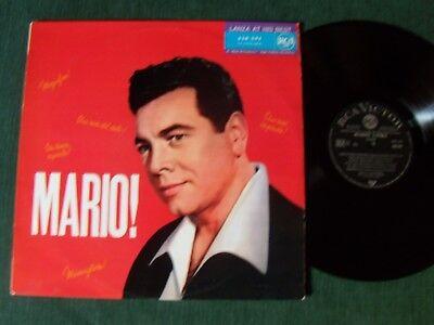 MARIO LANZA : MARIO ! Lanza at his best - LP 09/1966 French RCA 430.291