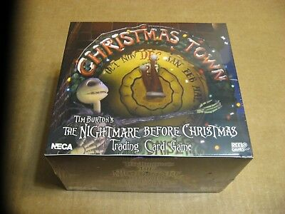 The Nightmare Before Christmas Trading Card Game Christmas Town 36 Pack Box - Christmas Game