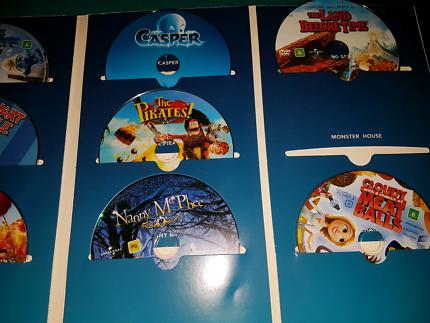 Children's movie collection.