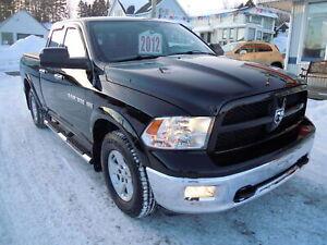2012 Ram 1500 Dodge Ram SLT 4x4 Quad Cab 140 in. WB